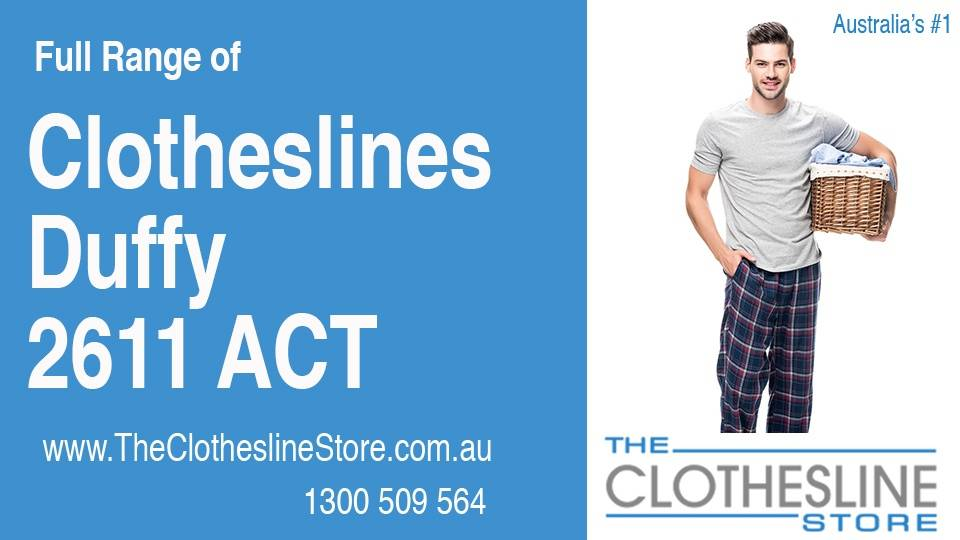 New Clotheslines in Duffy ACT 2611