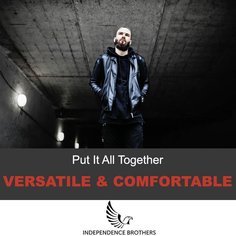 Versatile jacket style