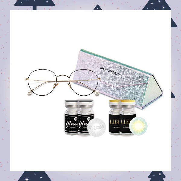 Good V-Eye-bes color contact lens set