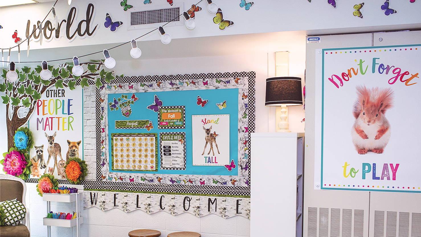 Woodland Whimsy Classroom 1