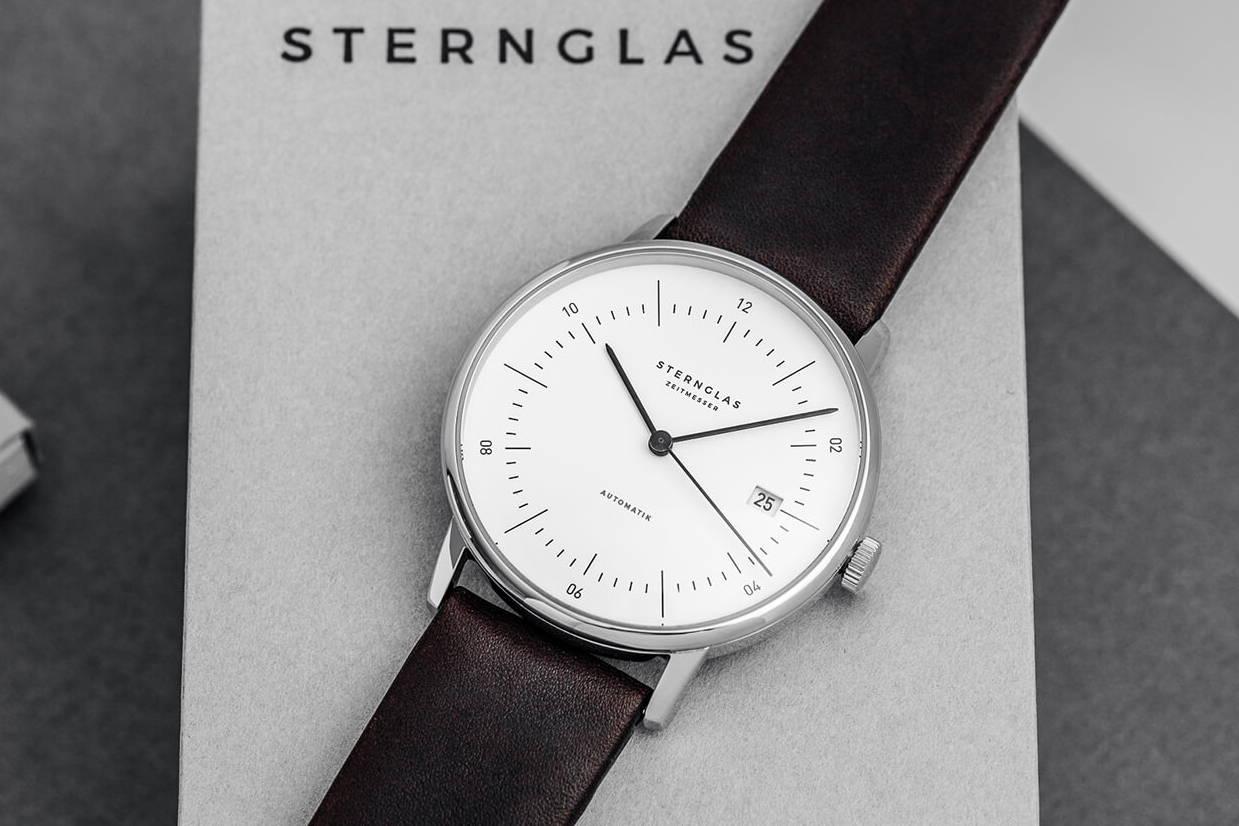 c410d81891ee STERNGLAS Bauhaus watches designed in Hamburg - STERNGLAS ...