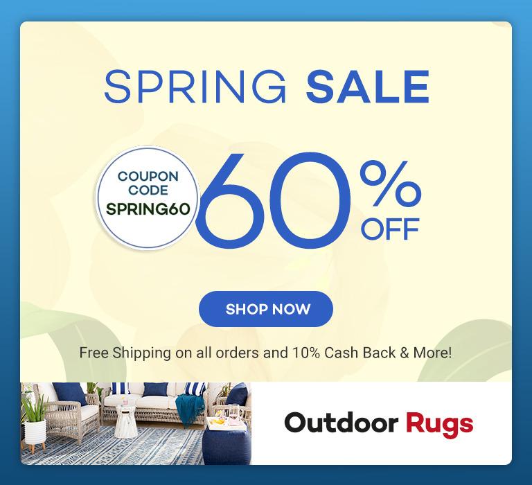 Spring Sale 60% off