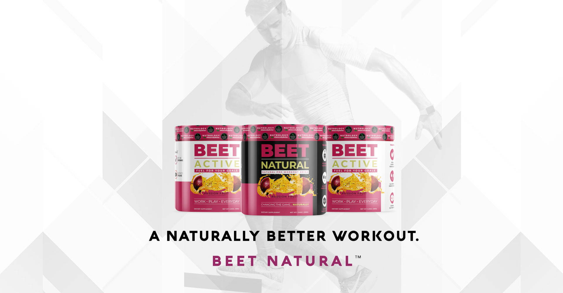 natural pre workout banner