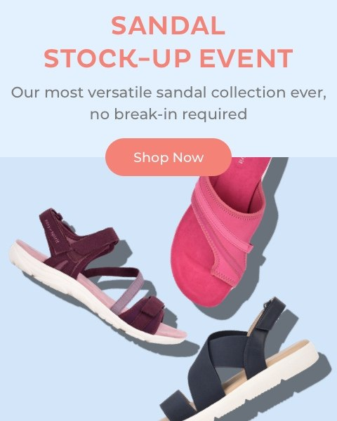 Sandal Stock-Up Event