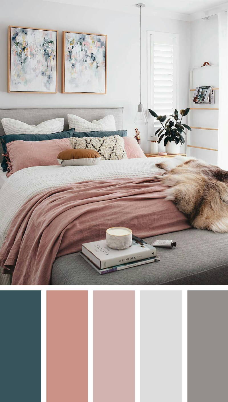 Feminine tones for bedroom create space for meditation and prayer
