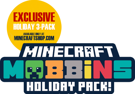 Minecraft Mobbins Holiday Pack logo