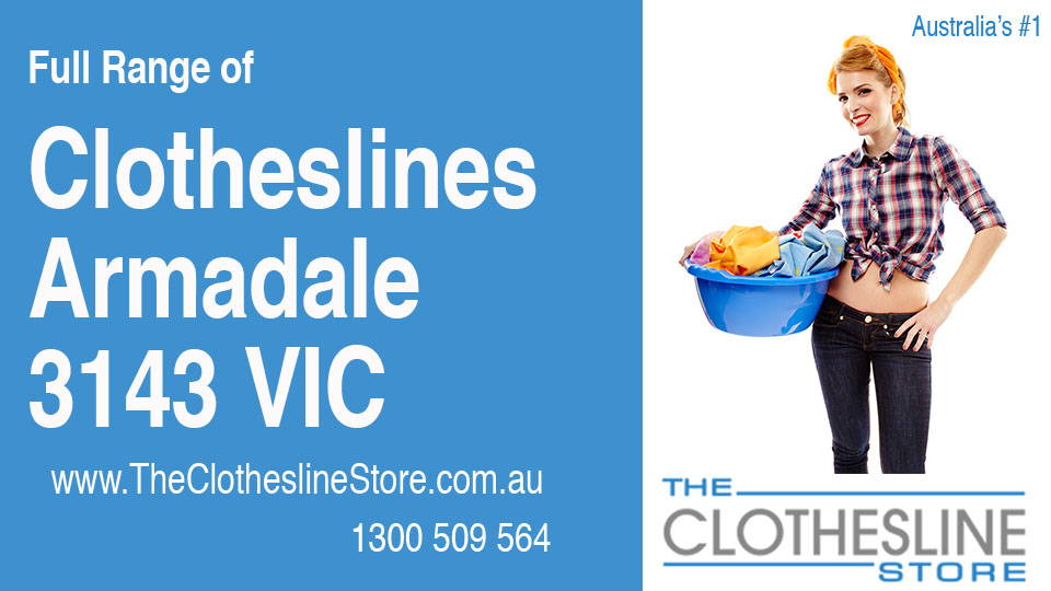 New Clotheslines in Armadale Victoria 3143