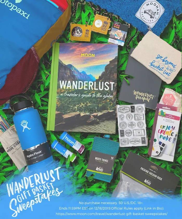 The Wanderlust Gift Basket Travel Gift Ideas For The Adventurer