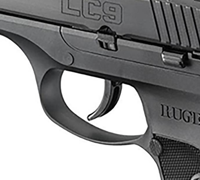 Ruger LC9 trigger detail