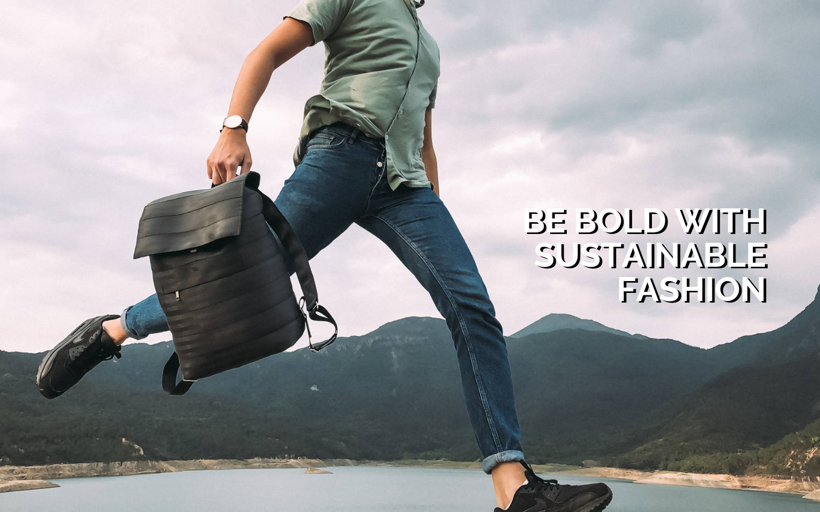 Be bold with sustainable fashion
