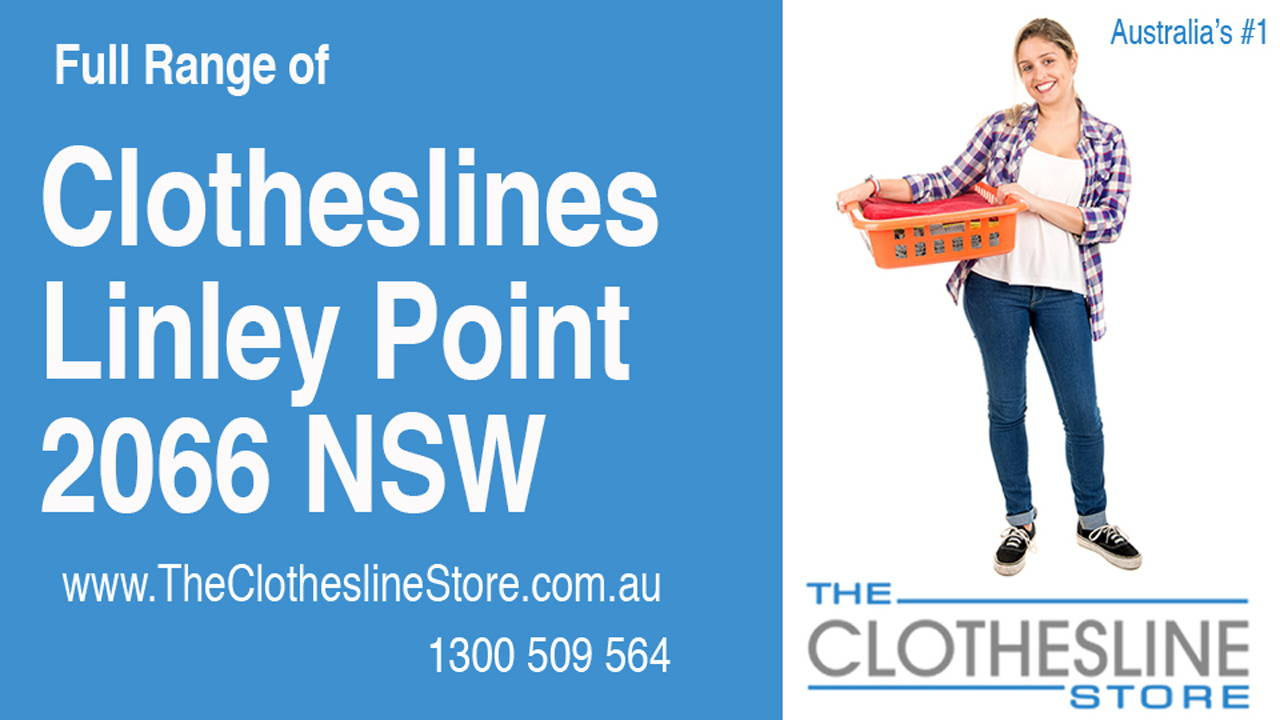 Clotheslines Linley Point 2066 NSW