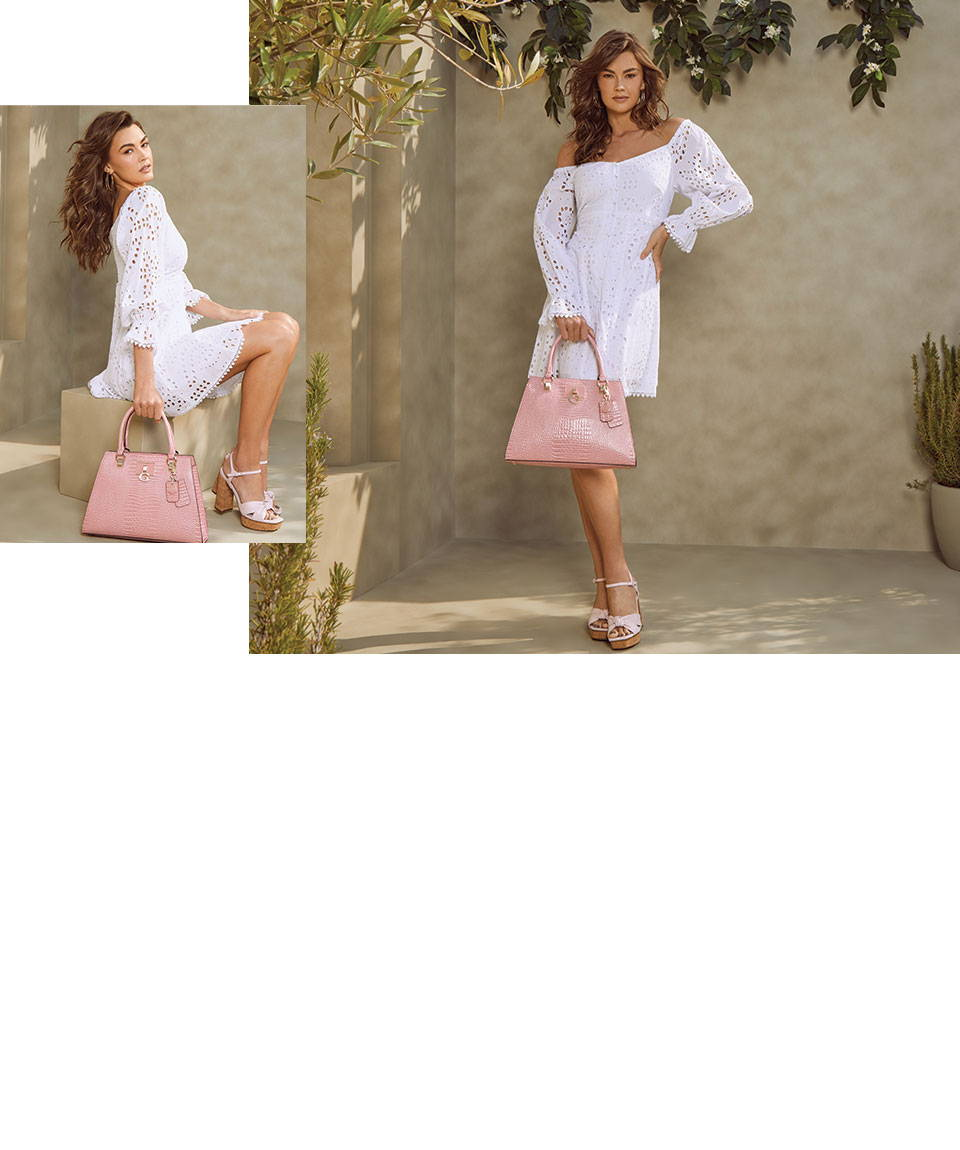 Guess dresses and handbags for women