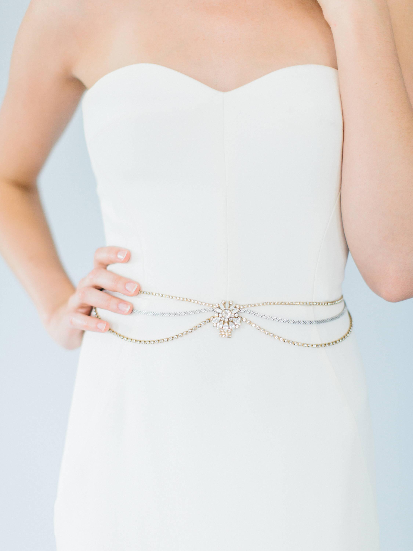 Ampersand Bridal Cairo Belt