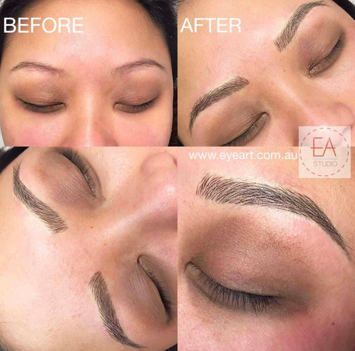 Asian Eyebrow Microblading Experts Melbourne