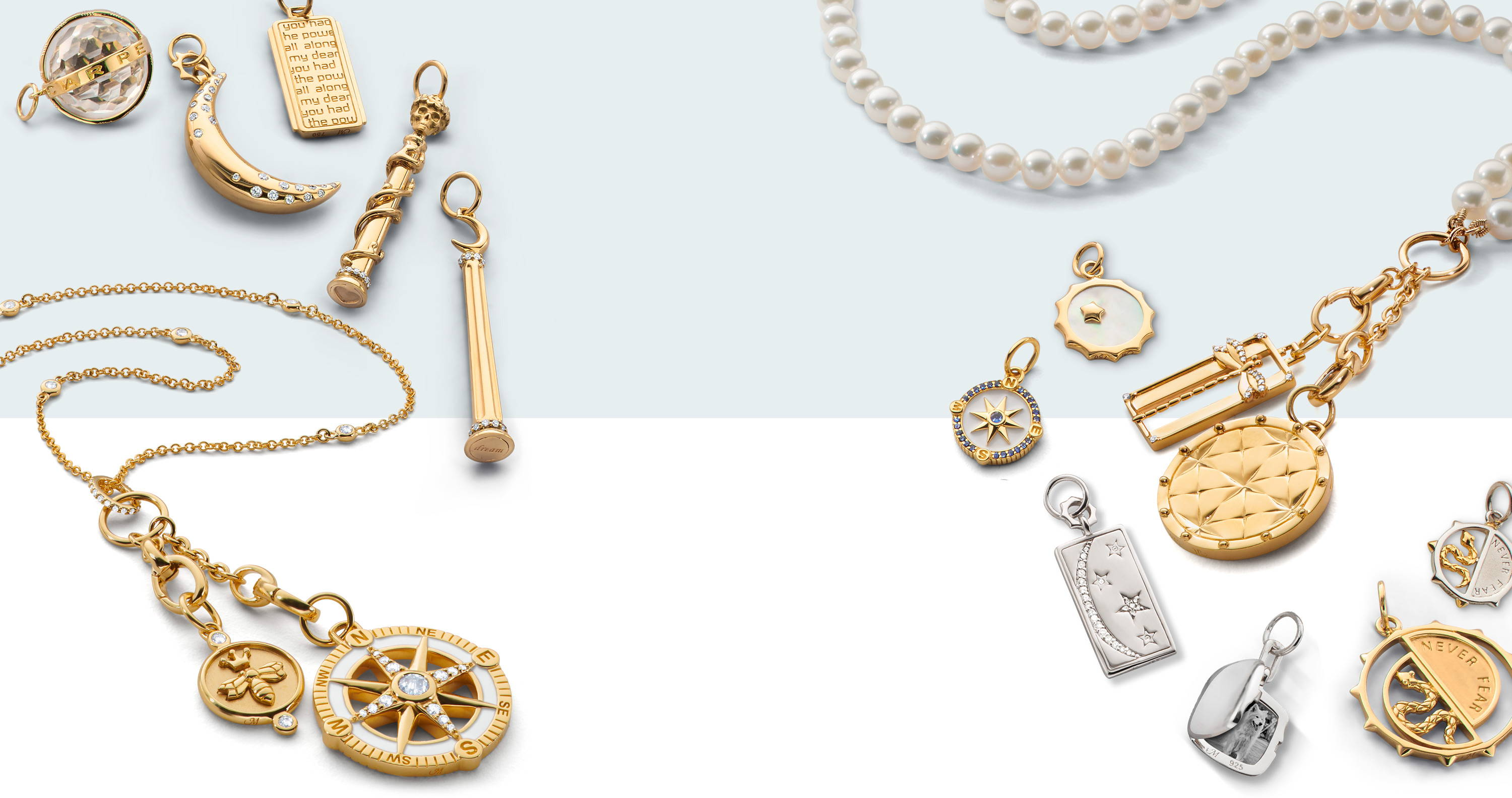 design your own charm necklace