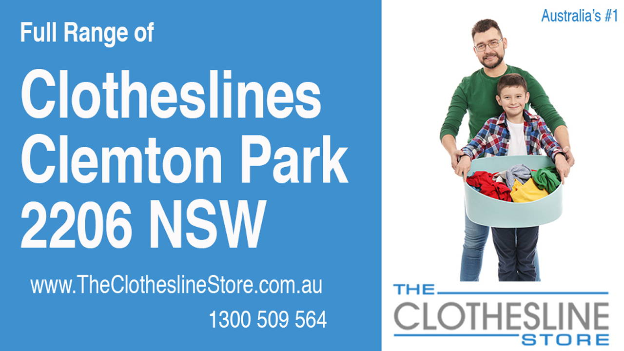Clotheslines Clemton Park 2206 NSW
