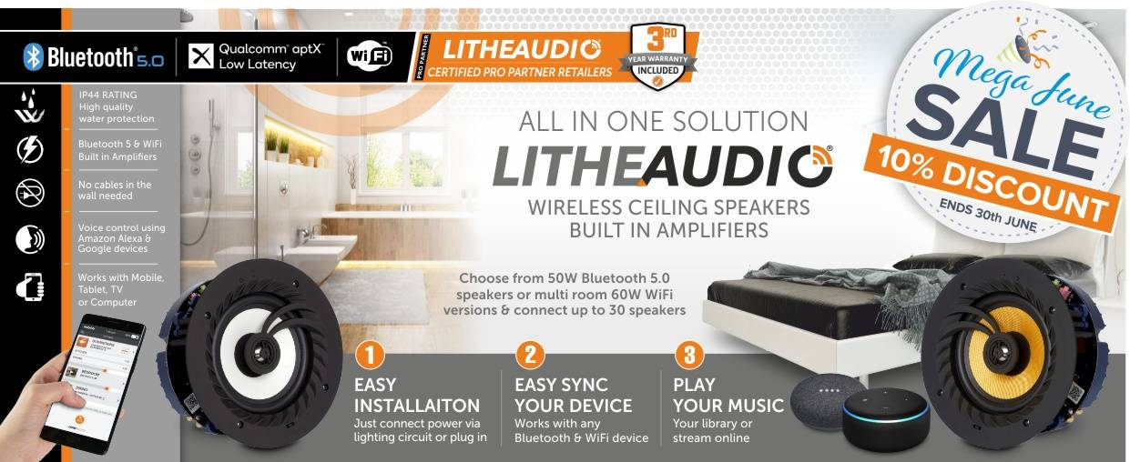 Lithe Audio 10% Discount at Audio Volt in the month of June