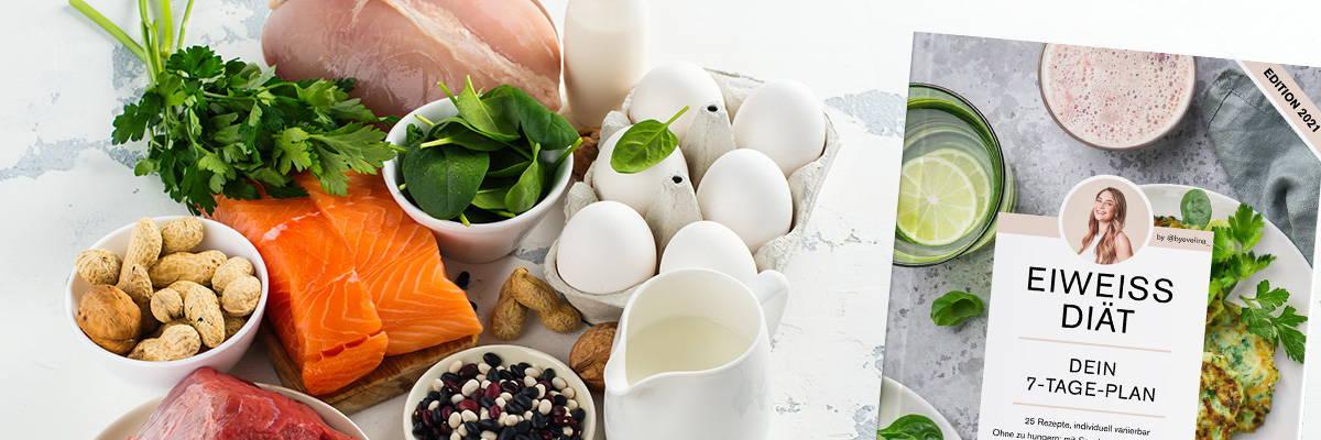 Eiweiß Diät mit Ernährungsplan