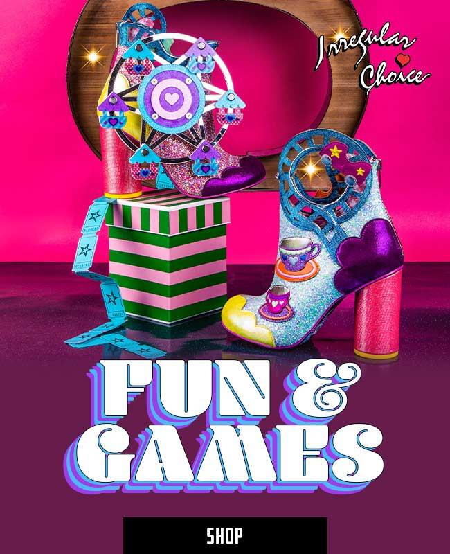 Irregular Choice Fun and Games