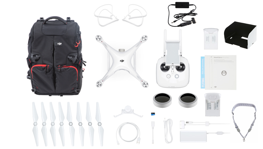 DJI Phantom 4 Pro V2.0 Everything You Need Kit