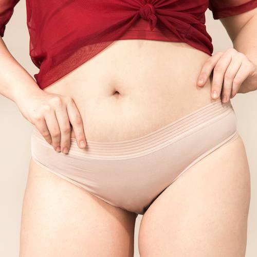 calcinha absorvente - clássica fluxo moderado menstruação