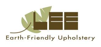 Lee logo: Earth-Friendly Upholstery