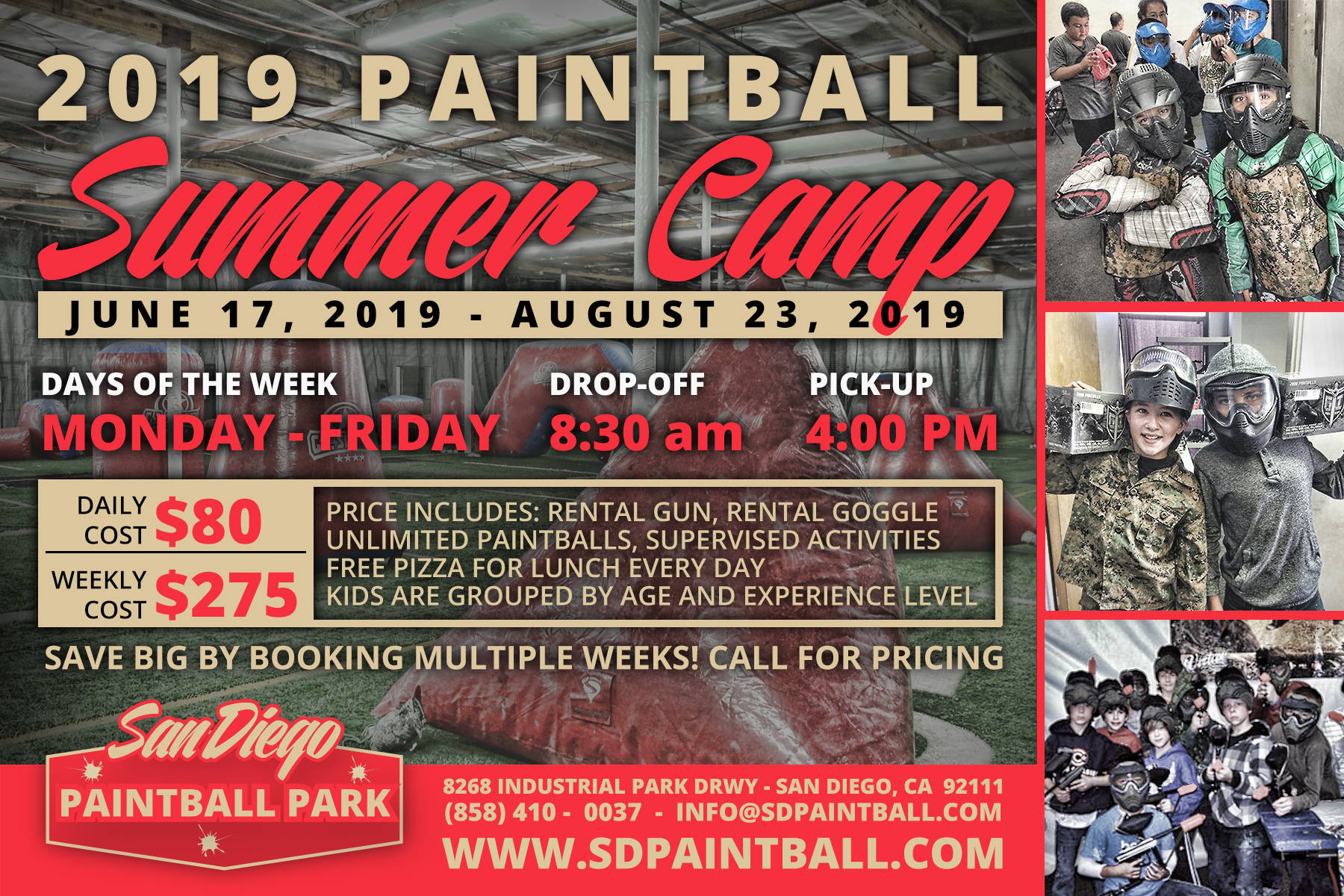 2019 Summer Camp Registration Now Open