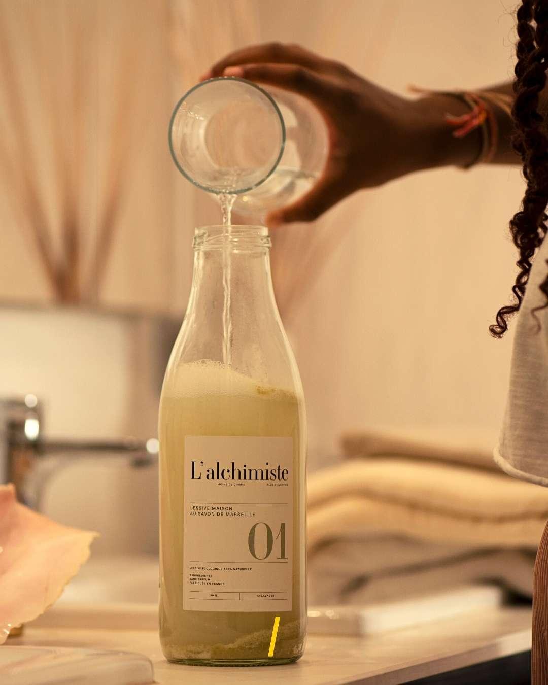 Lessive liquide naturelle