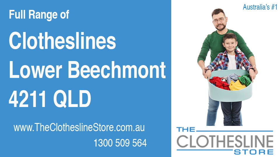 New Clotheslines in Lower Beechmont Queensland 4211