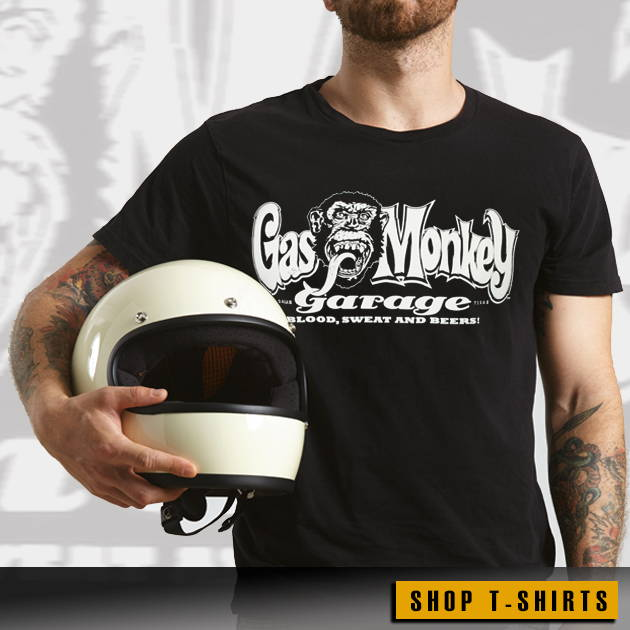 Gas Monkey Garage Clothing and Accessories