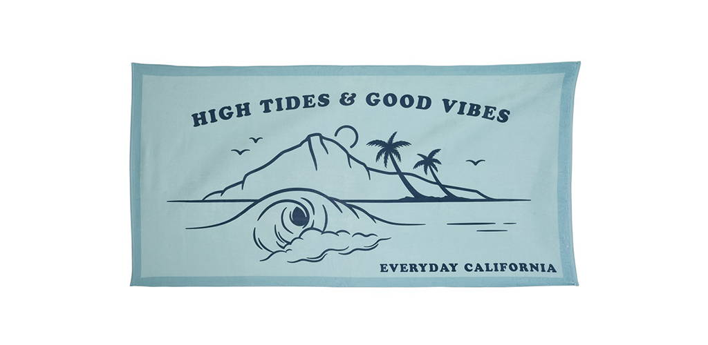 Christmas present big beach towel
