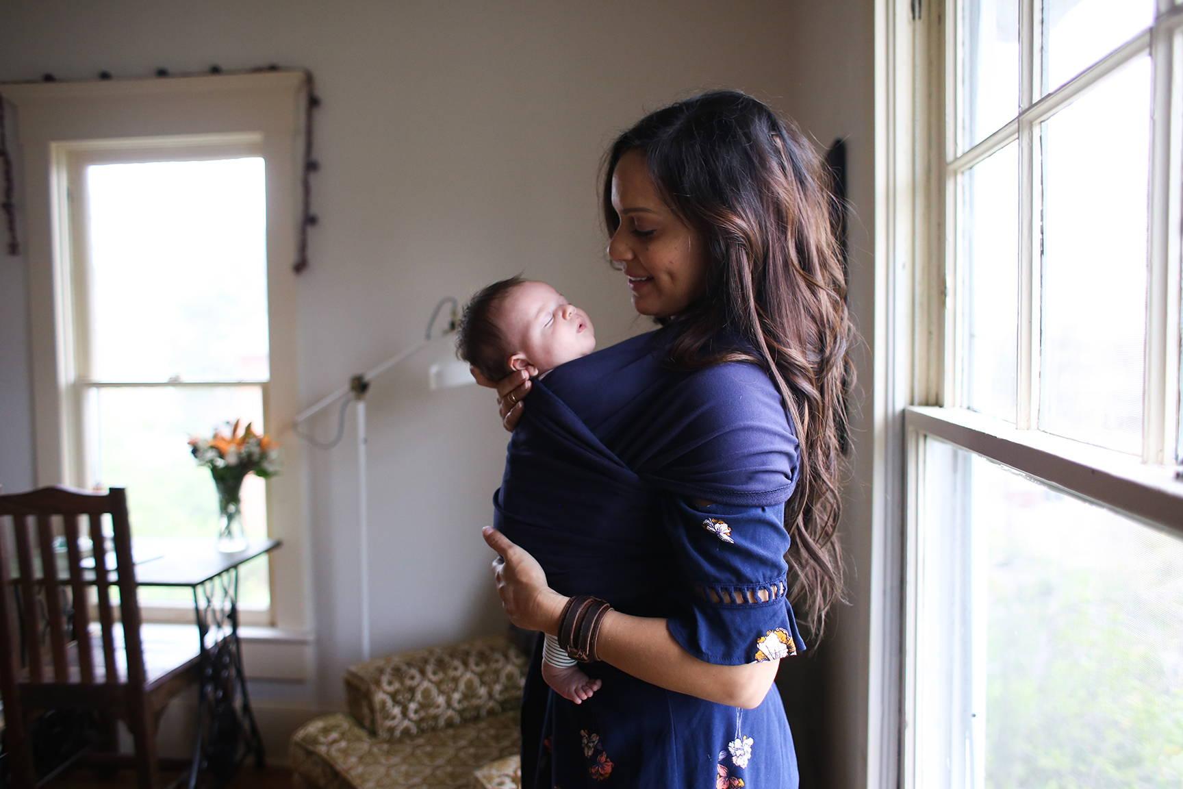 Mutter nimmt Vorteil Reife Mutter (Technik)