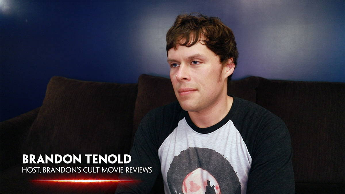 Brandon Tenold interviewed in In Search of Darkness Part II
