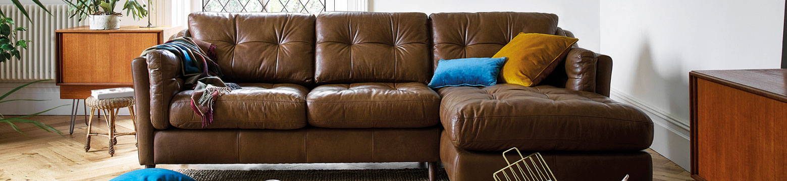 Cromwell Leather Sofa