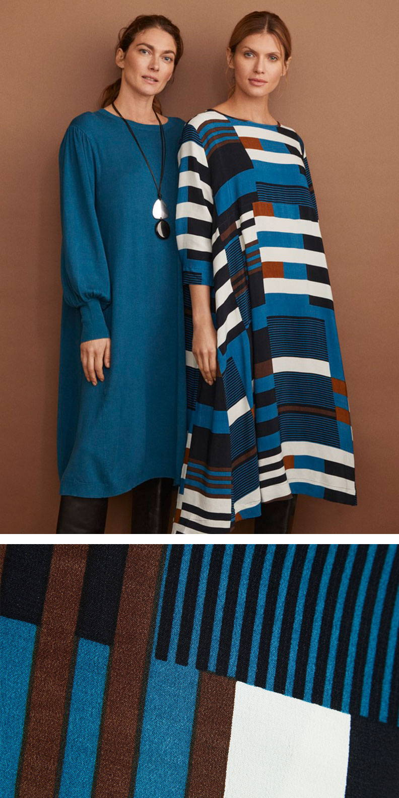 Pictured Together, the Nabia and Nolina Dress   Masai Copenhagen