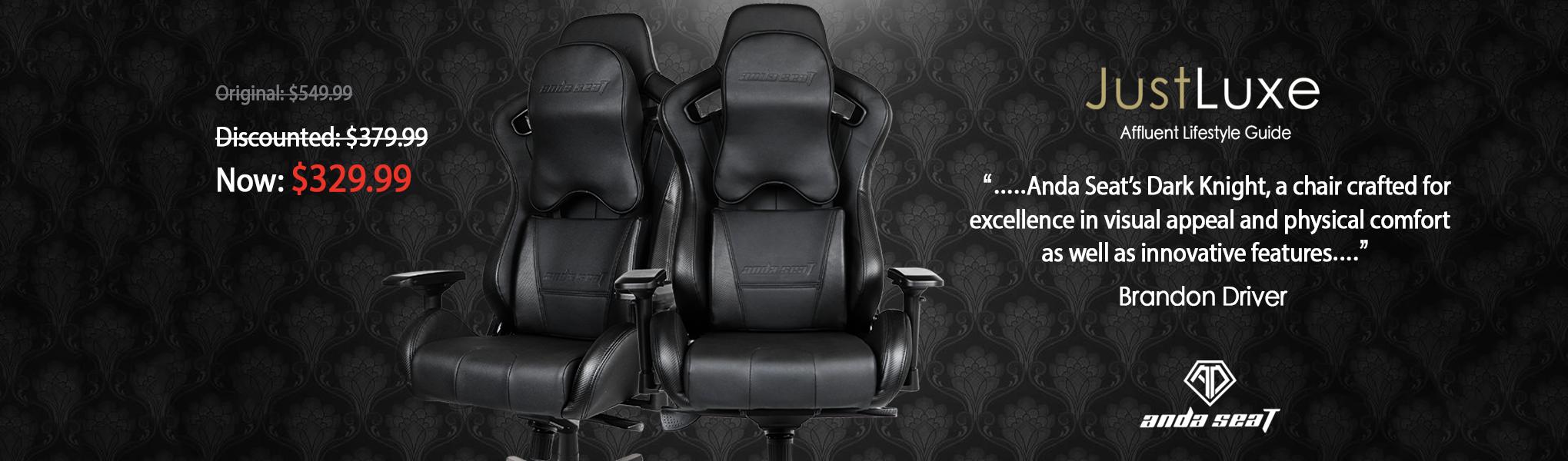 Dark Knight pc Gaming Chair for big guys