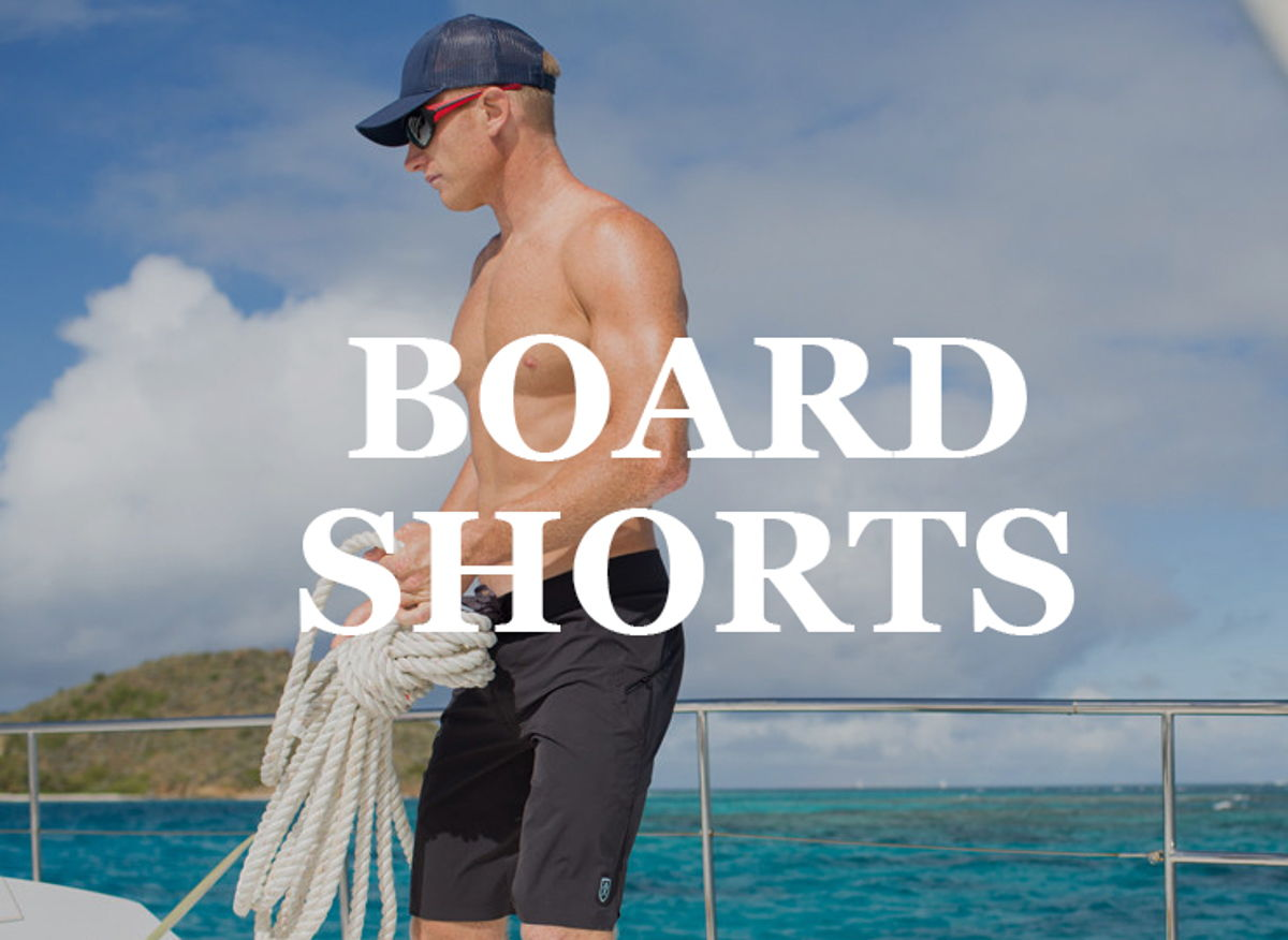 Bluesmiths technical performance Board shorts