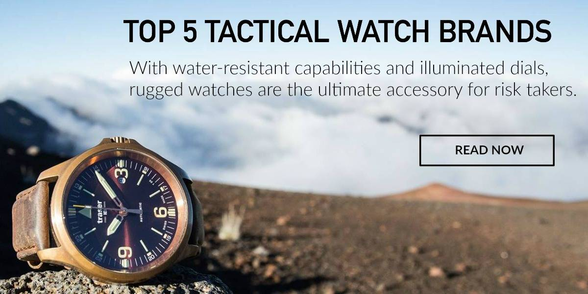 Read About the Best Tactical Watches