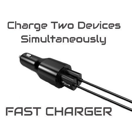 Fast Car Charger + 4ft USB C Cable
