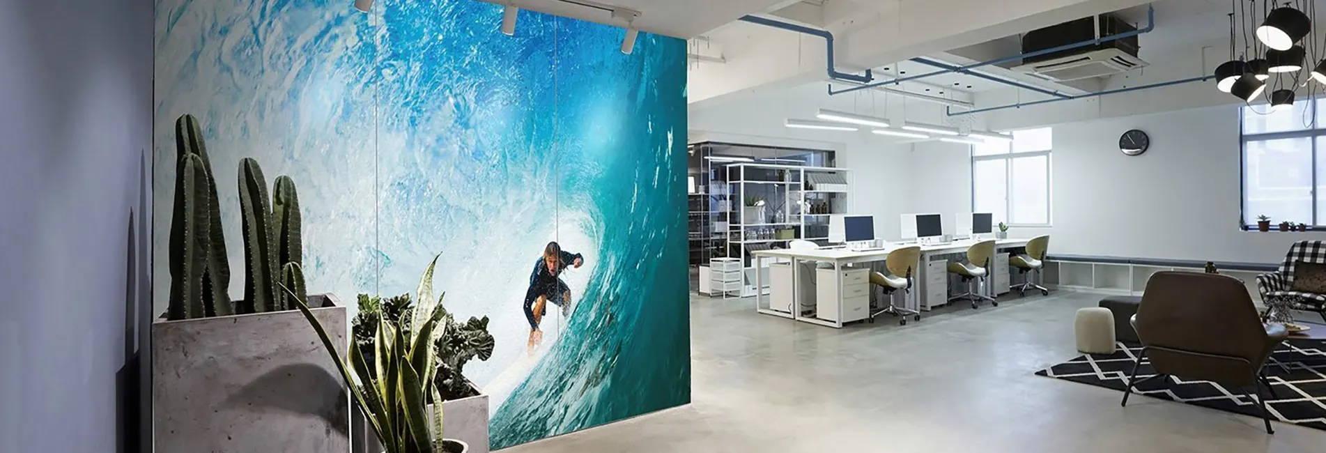 Bespoke Printed Acoustic Wall Coverings