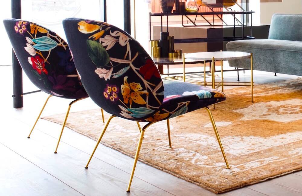 The floral interior design trend continues strong. Browse ideas and products at 2Modern.