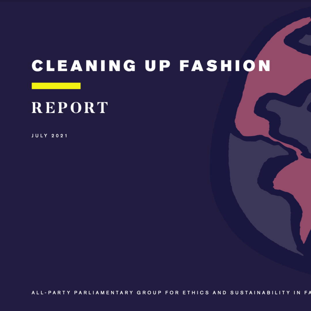 Cleaning Up Fashion Report by Fashion Roundtable