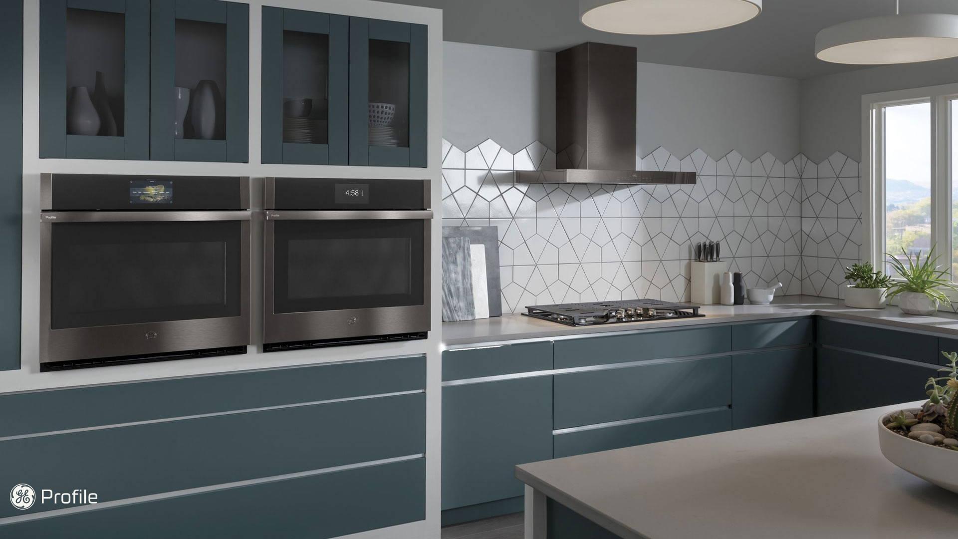 GE Profile Inchyra Blue Kitchen