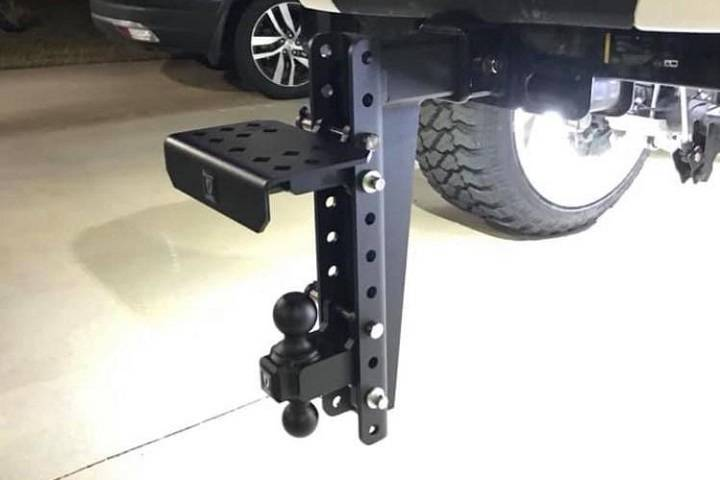 BulletProof Hitches Step Attachment In-Use