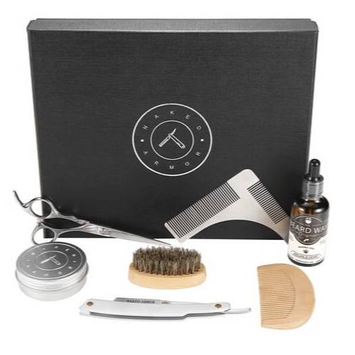 Naked Armor Beard Grooming Care Kit