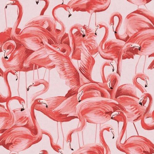 Tempaper Flamingo Removable Wallpaper