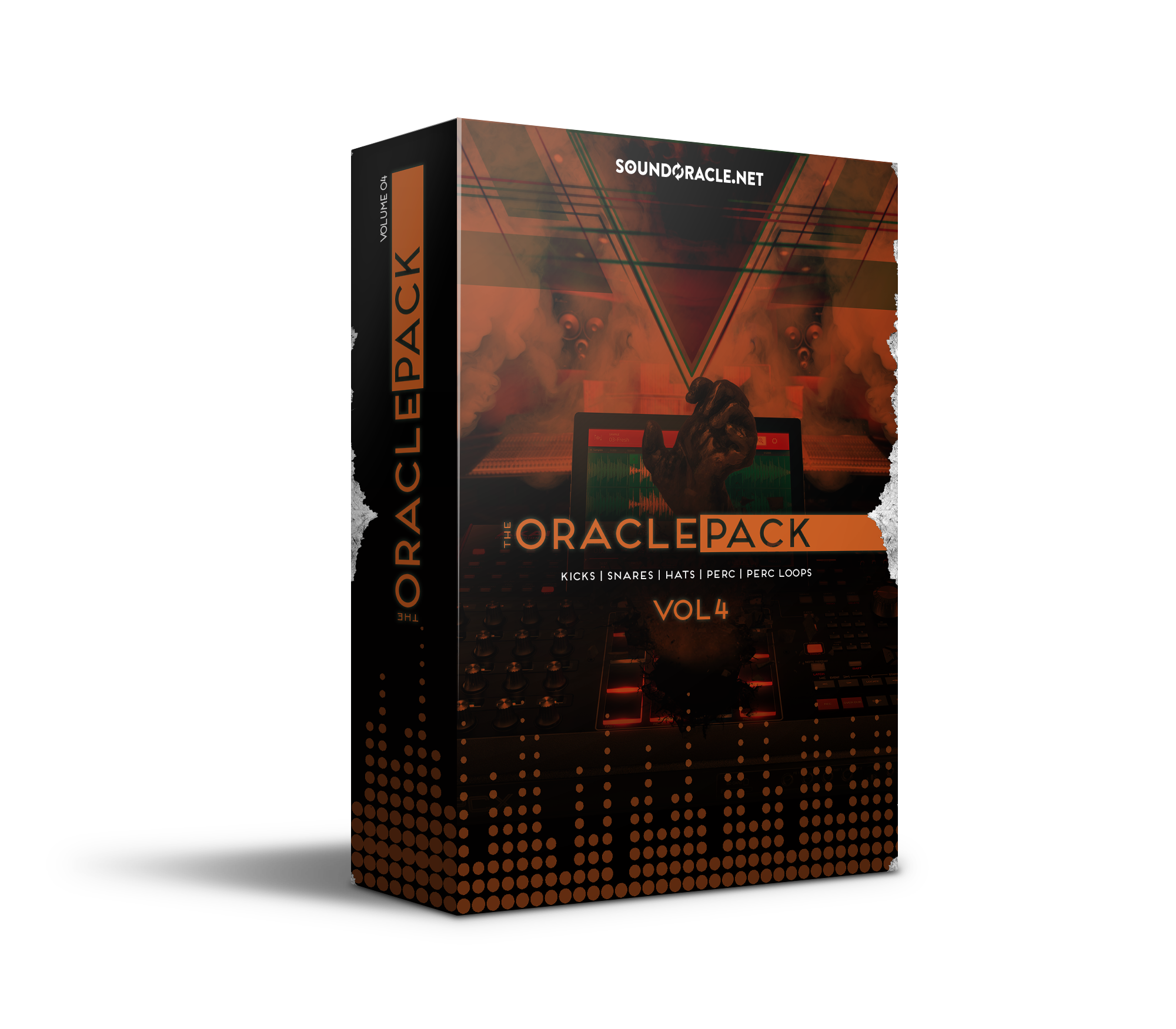 The Oracle Pack Vol 4, Oracle Kit, Oracle Pack, Oracle Pack Series, Sample Kit, Sounds, Sound Kit, Sound Library, Drums, Drum Kit, Percussion, Percussion Loops, Kicks, Snares, Hats, Perc, Perc Loops, SoundOracle, SoundOracle Sound Kits, Hip Hop, EDM, Producers, Music Producers, Beats, Beatmakers, Beat Makers, Beatmaking, Beat Making