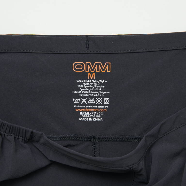 OMM(オーエムエム)/ペースパンツ/ブラック/MENS