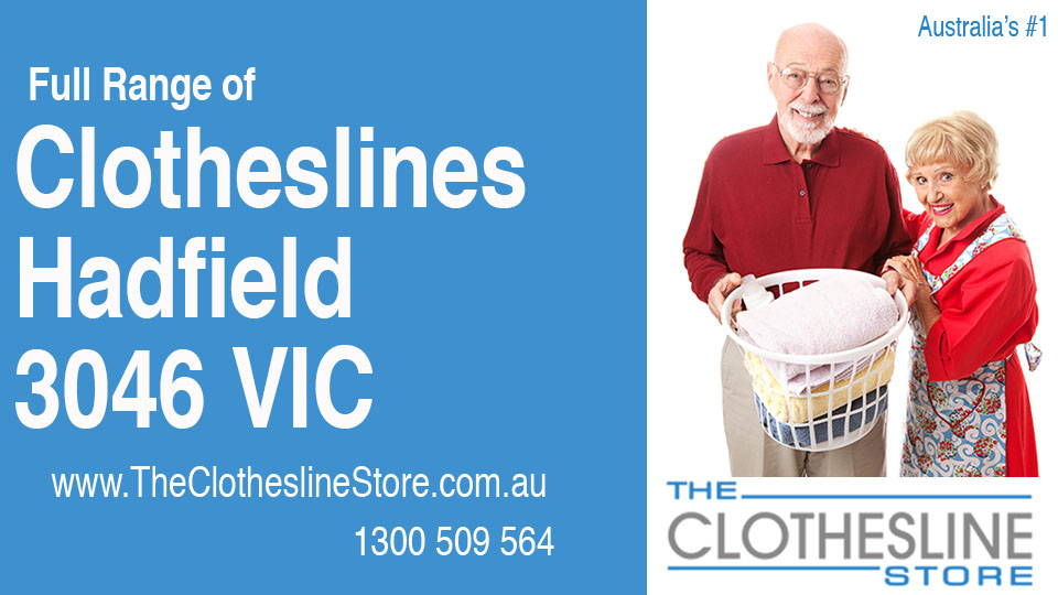 New Clotheslines in Hadfield Victoria 3046