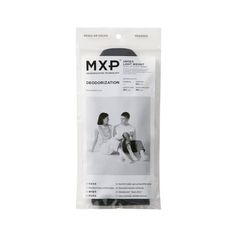 MXP(エムエックスピー)/デオドラント レギュラーソックス/グレー/UNISEX